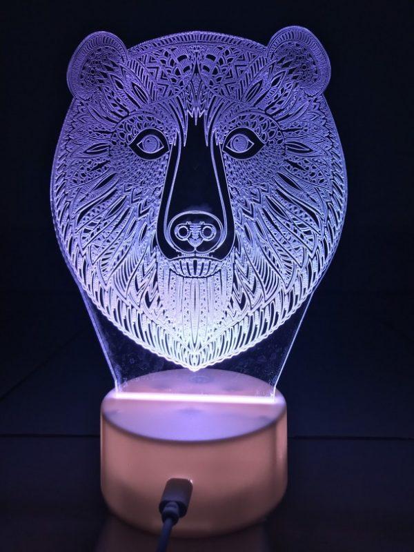 Đèn Ngủ Khắc Ảnh ( Đèn Ngủ Theo Yêu Cầu ) khachinh.com