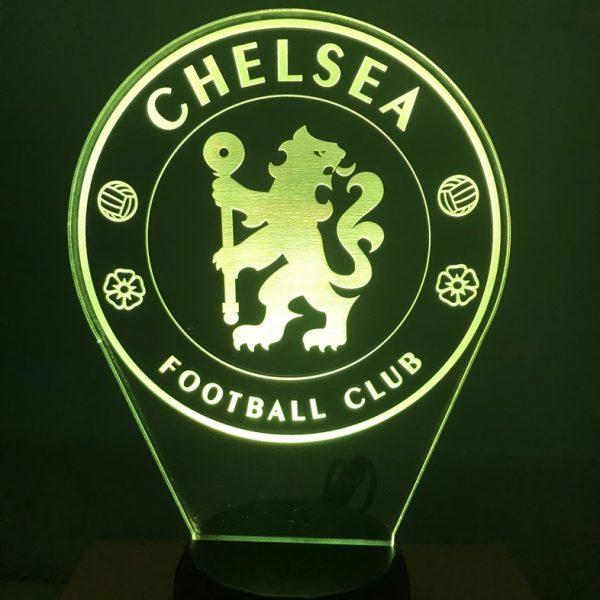 Đèn khắc hình CLB bóng đá Chelsea