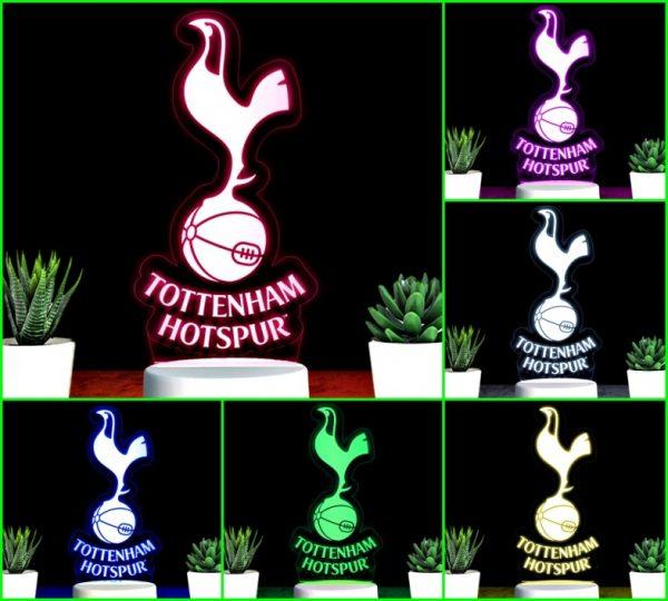 Đèn khắc hình CLB bóng đá Tottenham Hotspur