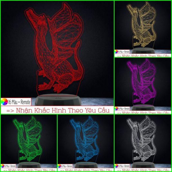 Đèn Khắc Ảnh Người ( Đèn Ngủ 3D ) khachinh.com