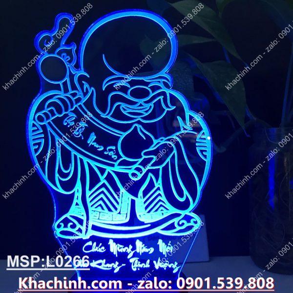 Đèn khắc tượng phúc lộc thọ, chúc mừng năm mới, vạn sự như ý, khắc hình theo yêu cầu khachinh.com