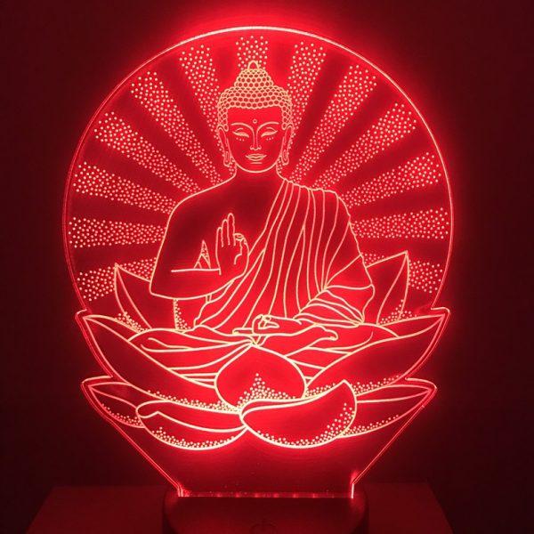 Đèn led thờ phật - Đèn bàn thờ phật dùng pin khachinh.com