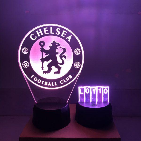 Đèn Led hình CLB Chelsea mẫu 2 khachinh.com