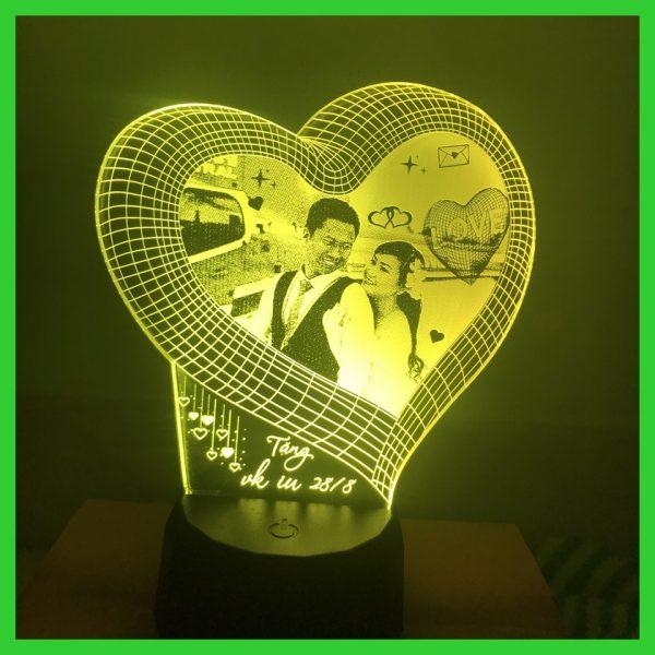 Khắc hình đèn Led Ngủ theo yêu cầu. khachinh.com