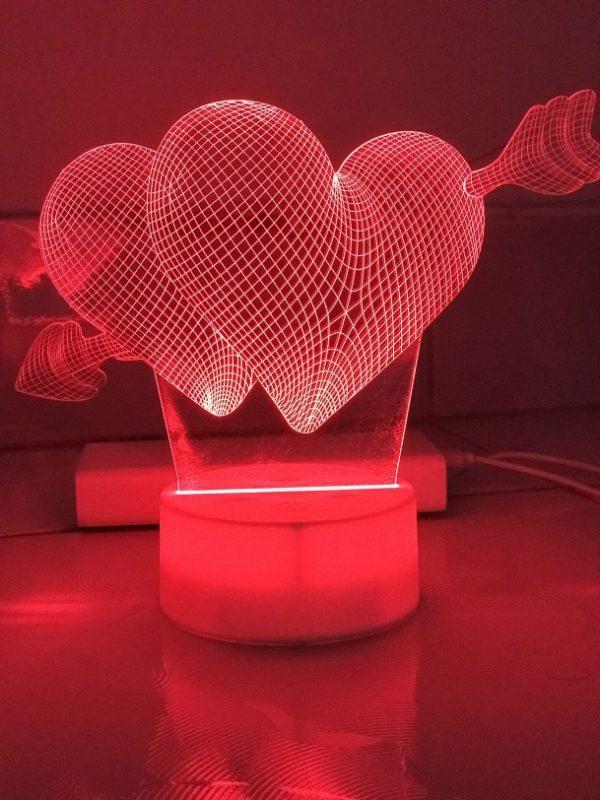 Đèn Ngủ In Ảnh Cưới ( Khắc Ảnh Lên Đèn Ngủ ) khachinh.com