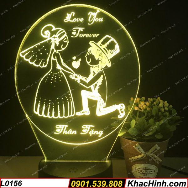 Đèn Led 3D Theo Yêu Cầu, Đèn khắc hình theo yêu cầu, đèn để bàn, quà tặng sinh nhật, quà tặng ý nghĩa ( Đèn Ngủ Để Bàn Đơn Giản ) khachinh.com