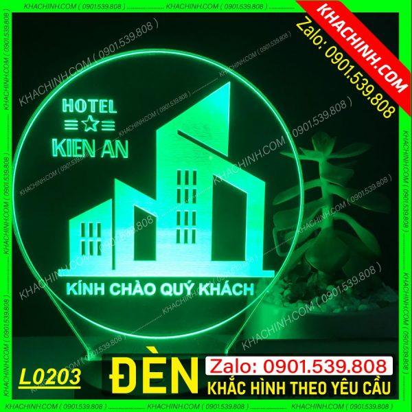 Đèn Ngủ In Ảnh Cưới ( Đèn Ngủ Để Bàn Đơn Giản ) khachinh.com L0203