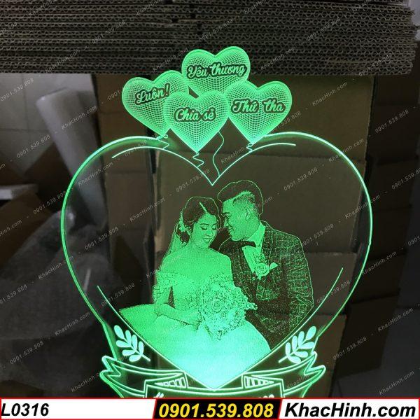 Đèn Ngủ Khắc Ảnh ( Đèn Khắc Chân Dung ), Đèn ngủ khắc hình theo yêu cầu, quà tặng sinh nhật, quà cưới khachinh.com