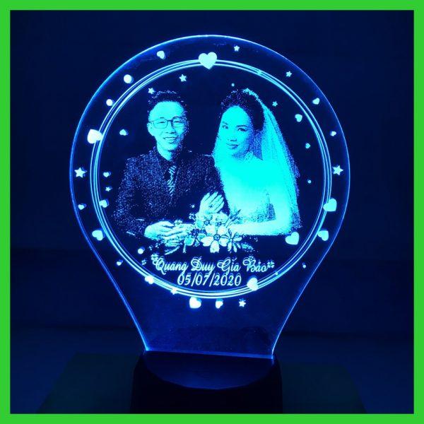 Đèn ngủ khắc Hình Theo yêu cầu Giá Rẻ khachinh.com