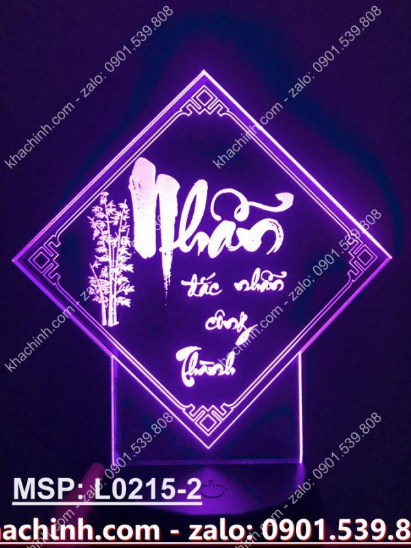 Đèn led chữ Nhẫn 2 khachinh.com