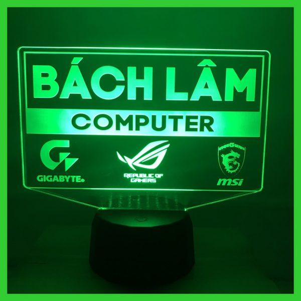 Đèn khắc Logo Cá nhân theo yêu cầu khachinh.com