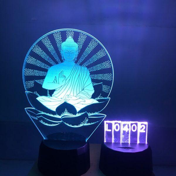 Đèn led hình Phật khachinh.com