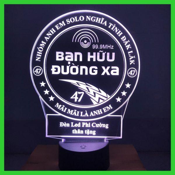 Đèn ngủ, đèn trang trí hình Hội Lái Xe , Bạn Hữu Đường Xa khachinh.com