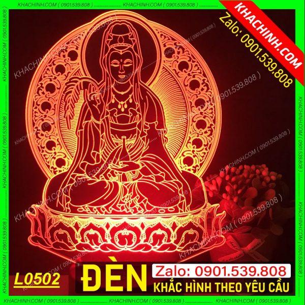 Đèn thờ hình mẹ Quan Âm khachinh.com