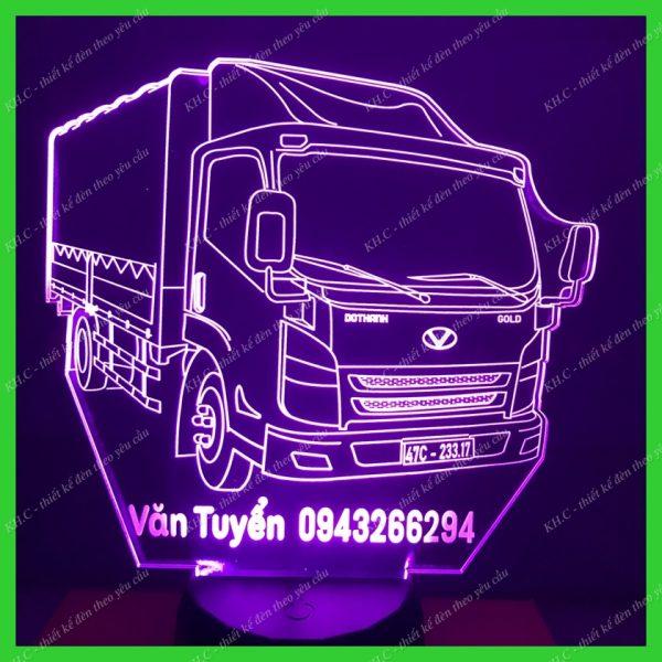 Đèn trang trí hình xe Tải DoThanh 3.5 Tấn khachinh.com